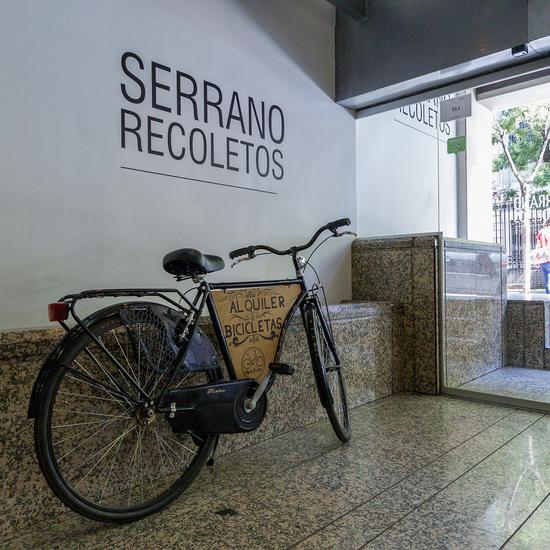 LOCATION DE BICYCLETTES Apartamentos Serrano Recoletos -
